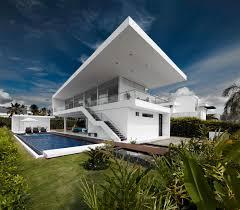 single family two storey modern home design idea