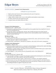 sample customer service supervisor resume construction site