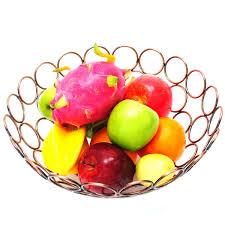 amazon com fruit basket decoration fruit basket tabletop home