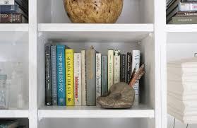 Bookshelf Styling Six Simple Shelf Styling Staples U2013 Hommemaker