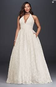 plus size wedding dress designers 27 designer plus size wedding dresses brides