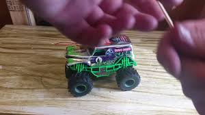 grave digger monster truck halloween costume new bright rc monster jam grave digger chrome edition unboxing