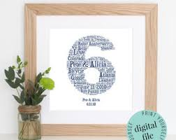 6th wedding anniversary gift unique 6th wedding anniversary gift b28 on images gallery m78 with
