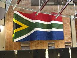 Afican Flag File South African Flag From The Constitutional Court Jpg
