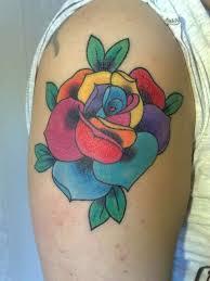 11 amazing rainbow tattoos