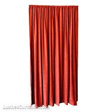15 ft high fire retardant velvet curtains 180 inch red panels
