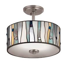 decor home decor ideas with drum semi flush mount light for semi