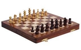 wholesale 10x10 inch chess set in bulk handmade wooden folding