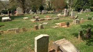 cemetery headstones historic cemetery vandalized to 100 headstones overturned