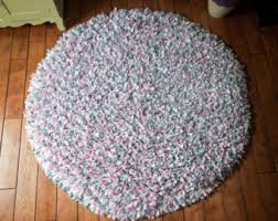 Pink Rug Nursery Girls Rug Etsy