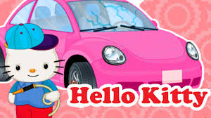 kitty car wash repair paint job u0026 decorate wonderful game