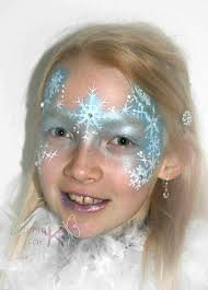 elsa frozen facepaint u2013 schmink for kids schminken face paint