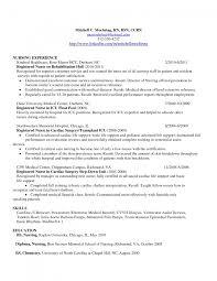 Pacu Resume Cover Letter Nurse Anesthetist Resume Student Registered Nurse