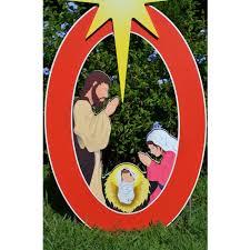 teak isle nativity printed yard sign farm garden superstore