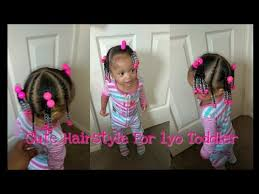 curly hairstyles for two year olds quick hairstyle for 1 year old toddler simple and cute youtube