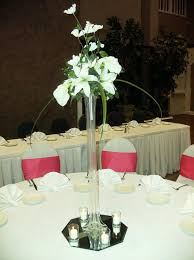 Tower Vase Centerpieces Premier Decorating Wedding Centerpieces