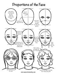 step by step tutorial for drawing a face female faces tutorials