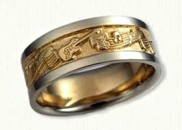 the story wedding band a themed wedding band with guitars and notes custom