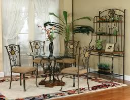 wrought iron dining room sets accessories awesome dining room decoration using black wrought