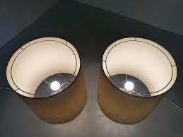set de table vintage lampes de table vintage en verre set de 2 en vente sur pamono