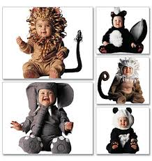 Sewing Patterns Halloween Costumes Sewing Pattern Mccall U0027s M6105 Kids Lion Panda Skunk Halloween