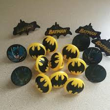 best batman cup cake rings for sale in port huron michigan for 2017