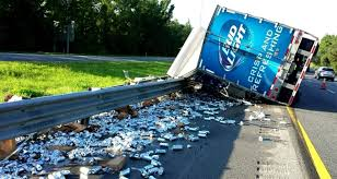 bud light truck driving jobs florida man crashes bud light truck after being distracted by his