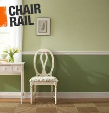 Two Tone Walls With Chair Rail 35 Best Faux Chair Rail Horizontal Wall Stripes Images On