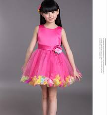 hot new years dresses 2017hot new princess wedding dresses medium length children