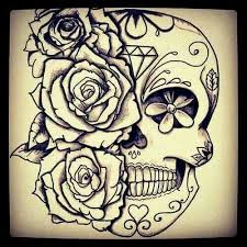 collection of 25 roses moon skull designs