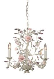 Cheap Pink Chandelier Pink Crystal Chandelier Otbsiu Com