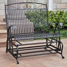 Iron Patio Furniture by Outdoor Benches Shop The Best Deals For Oct 2017 Overstock Com