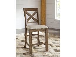 signature design by ashley bar and game room upholstered barstool