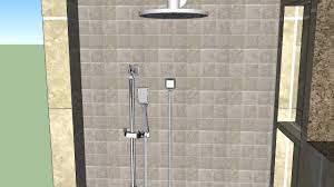 stevenson sketchup bathroom walkin shower youtube