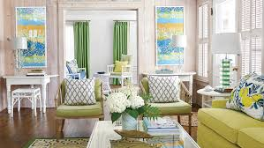 yellow living room furniture 48 beautiful beachy living rooms coastal living