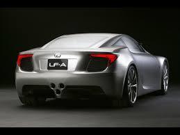 lexus car 2007 2007 lexus lf a sports car concept rear angle 1600x1200