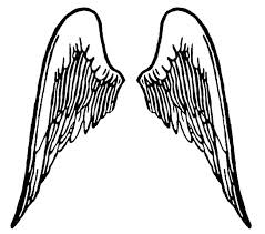 angel outline drawing free download clip art free clip art