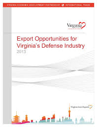 export opportunities virginia u0027s defense industry