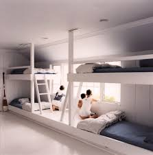 Bunk Beds Built Into Wall Innovative Built In Bunk Bed Diy Wall To Wall Built In Bunk Beds