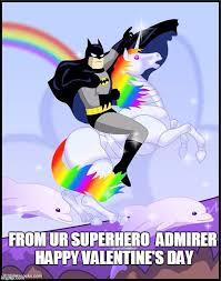 Superhero Birthday Meme - birthday batman gay unicorn imgflip