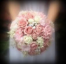 vintage bouquets brides artificial pink wedding bouquets with a vintage glamorous