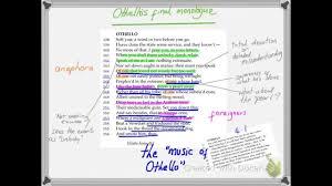 themes in othello act 1 scene 3 othello eulogy act 5 scene 2 analysis youtube