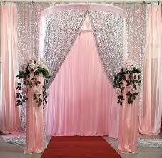 wedding decorations wholesale 5yard wholesale 150cm width thick sequin fabric mesh back fashion