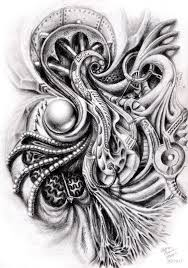 biomechanical heart tattoo design photo 2 photo pictures and