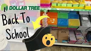 dollar tree in store new back to school shop with me