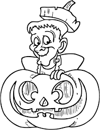halloween frankenstein coloring pages getcoloringpages com
