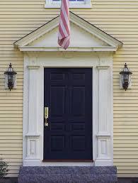 Clasic Colonial Homes triangular pediment doorway by classic colonial homes home