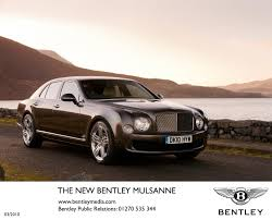 bentley releases a two tone bentley announces detailed specification of new mulsanne newspress