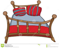 cartoon home furniture bed royalty free stock photography image