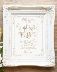 welcome to our wedding sign printable sign bella antique gold pdf